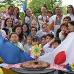 13 травня 2018р, в місті Наґоя пройшов третій Парад вишиванок.