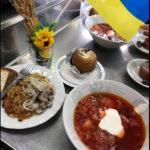ウクライナ料理教室を行いました。